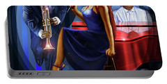 The Lady Jazz Singer Portable Battery Charger