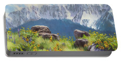The Land Of Chief Joseph Portable Battery Charger