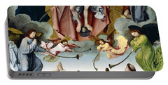 The Last Judgement Portable Battery Charger by Jan Provost