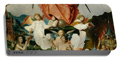 The Last Judgment Portable Battery Charger by Jan Provost