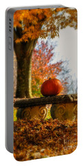 The Last Pumpkin Portable Battery Charger by Lois Bryan
