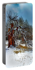 Portable Battery Charger featuring the photograph The Last Stand by Shane Bechler