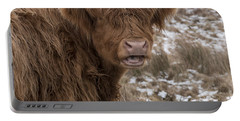 The Laughing Cow, Scottish Version Portable Battery Charger