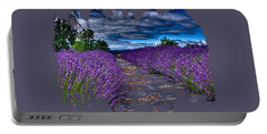 The Lavender Field Portable Battery Charger