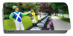 The Lawn Jockeys Of Saratoga Springs Portable Battery Charger