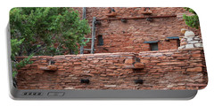 Portable Battery Charger featuring the photograph The Levels Of The Hopi House by Kirt Tisdale