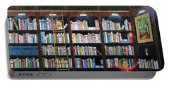 The Library Portable Battery Charger