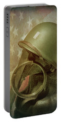 Portable Battery Charger featuring the photograph The Lieutenant by Tom Mc Nemar
