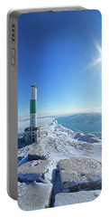 Portable Battery Charger featuring the photograph The Light Keepers by Phil Koch