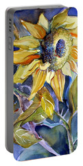 The Light Of Sunflowers Portable Battery Charger