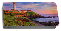 Portable Battery Charger featuring the photograph The Light Of Sunset by John Hight