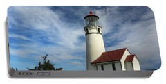The Lighthouse At Cape Blanco Portable Battery Charger