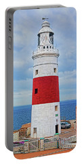 The Lighthouse At Europa Point Portable Battery Charger