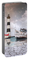 Portable Battery Charger featuring the photograph The Lighthouse by Juli Scalzi