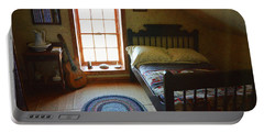 The Lighthouse Keepers Bedroom - San Diego Portable Battery Charger by Glenn McCarthy Art and Photography