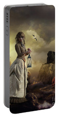 The Lighthouse Keeper's Daughter Portable Battery Charger by Shanina Conway