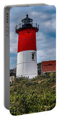Portable Battery Charger featuring the photograph The Lighthouse by Kendall McKernon