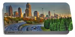 The Atlanta Line Up Autumn Sunset Reflections Portable Battery Charger