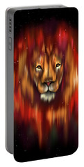 The Lion, The Bull And The Hunter Portable Battery Charger