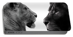 The Lioness And Lion Portable Battery Charger