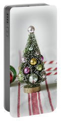 Portable Battery Charger featuring the photograph The Little Christmas Tree by Kim Hojnacki