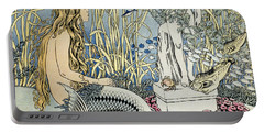 The Little Mermaid Portable Battery Charger by Ivan Jakovlevich Bilibin