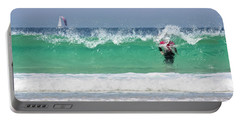 Portable Battery Charger featuring the photograph The Little Mermaid by Terri Waters