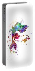 The Little Mermaid Watercolor Art Portable Battery Charger