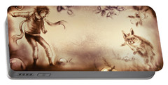 The Little Prince And The Fox Portable Battery Charger
