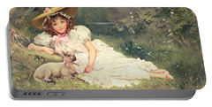 The Little Shepherdess Portable Battery Charger
