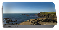 Portable Battery Charger featuring the photograph The Lizard Point by Brian Roscorla