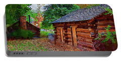 The Log Cabins Portable Battery Charger