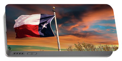 The Lone Star Flag Portable Battery Charger