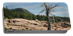 The Lone Tree Portable Battery Charger by Living Color Photography Lorraine Lynch