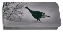 The Lone Turkey Portable Battery Charger by Jason Coward