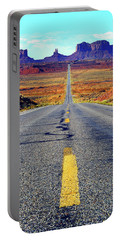 The Long And Winding Road Portable Battery Charger