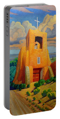 The Long Road To Santa Fe Portable Battery Charger by Art West