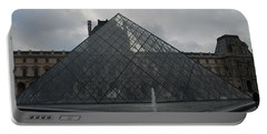 The Louvre And I.m. Pei Portable Battery Charger