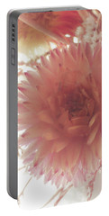 The Love Of Flowers Portable Battery Charger by Steve Taylor