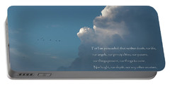 Portable Battery Charger featuring the photograph The Love Of God by David and Carol Kelly