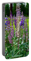 The Lupine Crowd Portable Battery Charger by Jennifer Lake