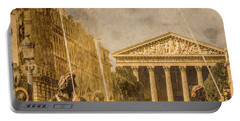 Paris, France - The Madeleine Portable Battery Charger