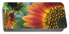 The Magic Sunflower Pollen Portable Battery Charger by Dorothy Maier