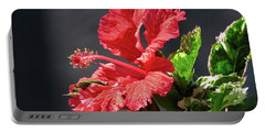 The Mallow Hibiscus Portable Battery Charger