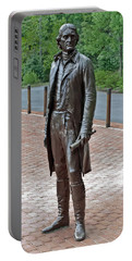 The Man Behind Monticello Portable Battery Charger by DigiArt Diaries by Vicky B Fuller