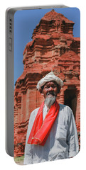 The Man Holds The Tower Champa Portable Battery Charger