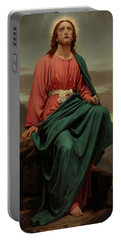 The Man Of Sorrows Portable Battery Charger