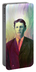 The Man With The Eyes Portable Battery Charger