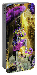 The Mardi Gras Jester Portable Battery Charger