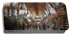 Portable Battery Charger featuring the photograph The Market Hall by Alex Lapidus
